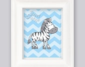 Wild Jungle Zebra Print