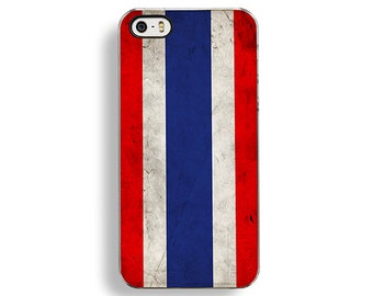 Flag of Thailand iPhone 5/5S Case - iPhone 4/4S Case - iPhone 5C Cases - Thailandian Flag