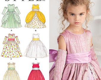 Simplicity Sewing Pattern 1508 Child's Special Occasion Dress