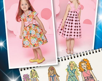 Simplicity Sewing Pattern 1433 Toddlers' and Child's Project Runway Dresses