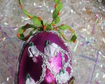 Easter Egg. Easter Wreeth Ornament
