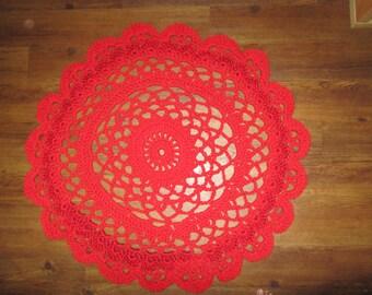 Handmade Lacy Doily Rugs