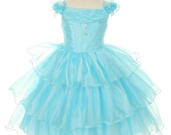 Elegant Organza Infant Dress