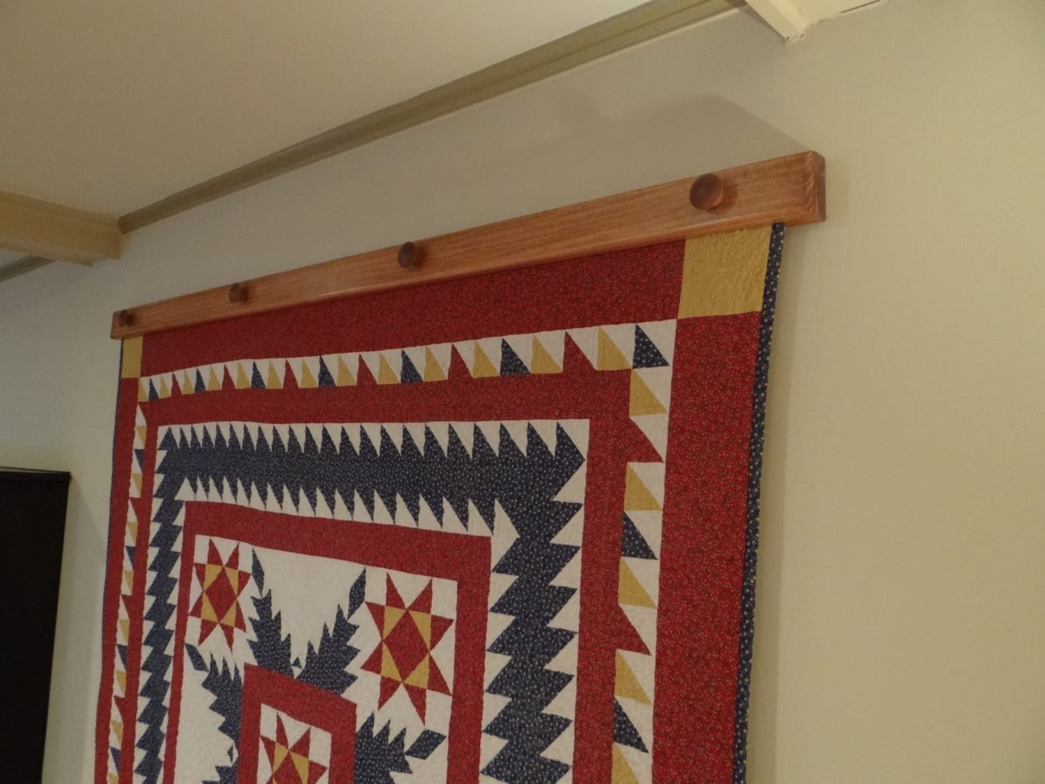 Compression Quilt Or Tapestry Hanger Small 2434