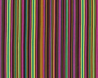 UK Shop: Norwegian Woods Forest Play Stripe Michael Miller Cotton Fabric