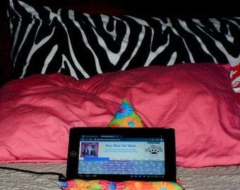 Tablet cushion stand- Ipad, Kindle holder