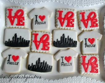 2 dozen, you choose theme! i love my city cookies!