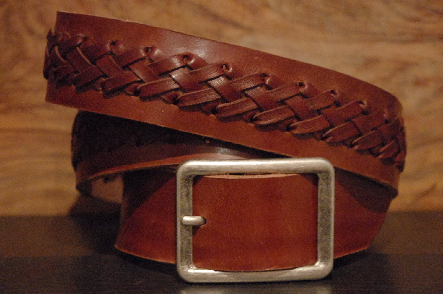 celtic leather belt braided leather belt by