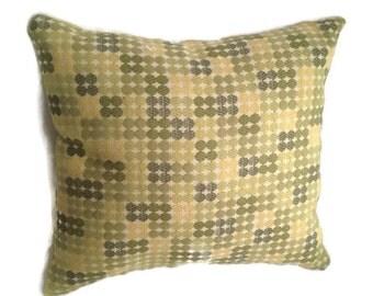 Green Pillow, Decorative Toss Pillow, Dual-sided, Home Decor