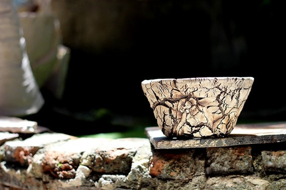 Bonsai Stoneware Pot Hb108