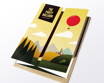 The Party Balloon - A Story Untold Greetings Card