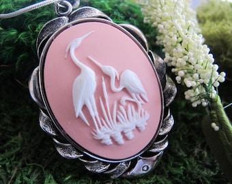 Heron Necklace