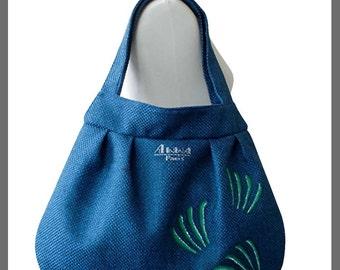 Blue bag, Model Amarante