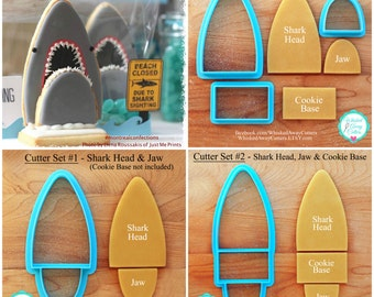 3D Shark Cookie Cutters Designed by Montreal Confections - Sets &  Individuals