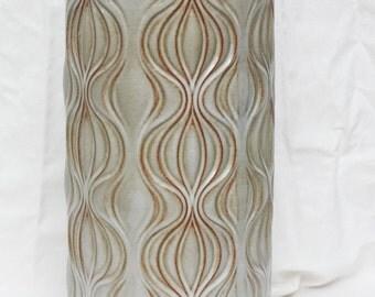 """Scheurich W. Germany """"onion"""" vase 285-40"""