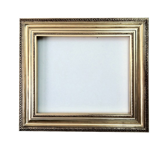 Decorative Wall Frames Photos : Decorative wall mirror frame in bright gold leaf bronze