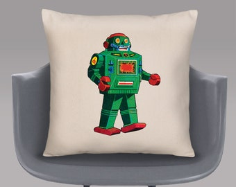 Toy Robot Cushion Cover