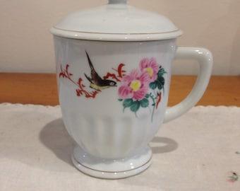 1960's chinese lidded mug