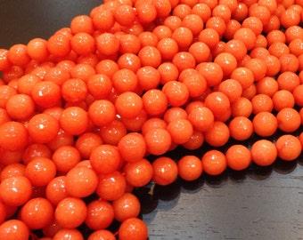1 strand Agate Stone Orange