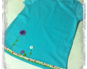 Colorful garden T-shirt