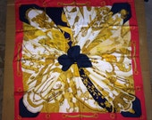 Hermes Scarf designed by Cathy Latham c1995