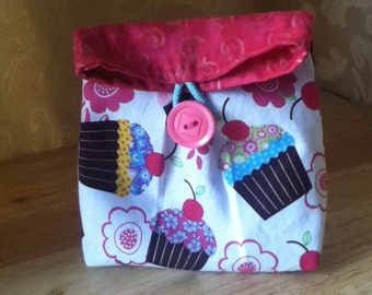 Cupcake Cosmetic Case