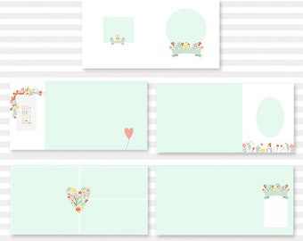 SUper simple and morden album template 20 pages