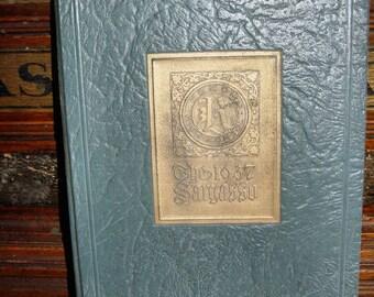 Kokomo High School SARGASSO 1937, Yearbook ~ Indiana  Roy Galloway  Kokomo-Howard County