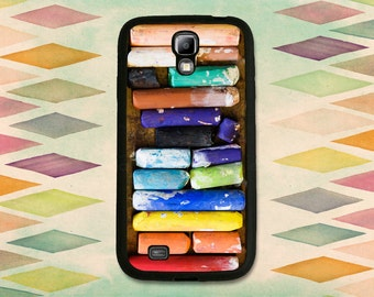 Box Of Artists Chalk  Case For The Samsung Galaxy S4 or S5