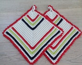 Oven Squares / Pot Holders Pattern *INSTANT DOWNLOAD*