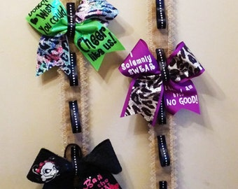 cheer bow holder Etsy