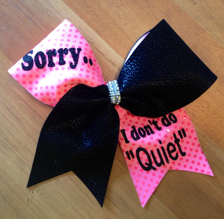 Cheerbow cheer bow cheerleader bella bows bellabows - Cute cheer bows ...