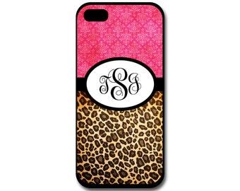 Cheetah Phone Case, iPhone Case, Samsung Galaxy Case, Hot Pink Phone Case