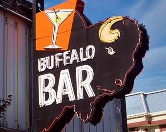 Buffalo Bar Neon Sign