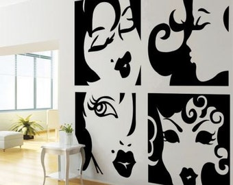 Ladies Wall Decal
