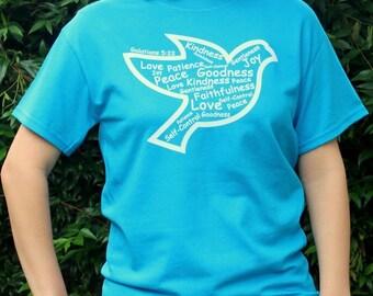 Fruit of the Spirit Dove Christian Tshirt