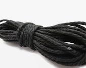 5mtrs Black Cotton Cord 3mm