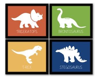 Dinosaur Wall Art, Dinosaur Decor, Dinosaur Nursery, Boy Nursery Wall Art,  Toddler Room Decor, Boy Bedroom Art, Boys Room, INSTANT DOWNLOAD