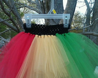 MADE TO ORDER Sassy Rasta Tutu