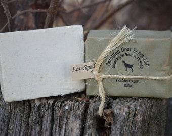 Love Spell Goat Milk Castile Soap