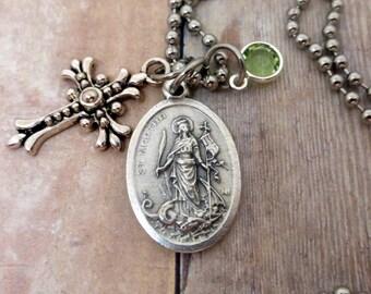 Saint Martha, Patron Saint of Wives and Mothers. Help for Money Matters. Lift Financial Burdens. Divine Messenger, Prayer Necklace