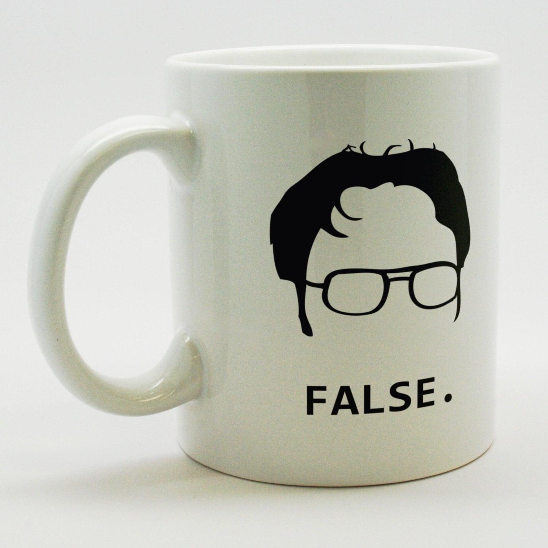 Dwight Schrute False Coffee Mug By MugSmug On Etsy
