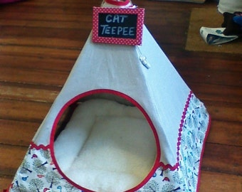Cat Teepee SEWING PATTERN