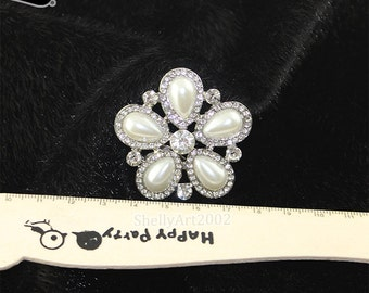 2 pcs/Pair Wedding Rhinestone Shoe Clips