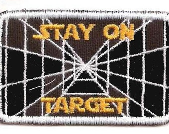 Stay on Target patch