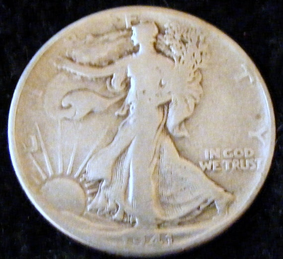 1941 LIBERTY WALKING HALF Dollar . . Great Investment . .