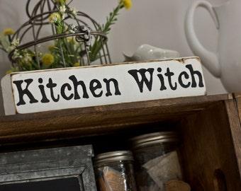 Kitchen Witch Shelf Sitter
