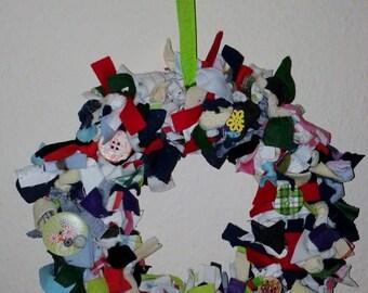 Large Rag Wreaths