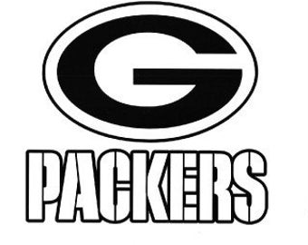 Green Bay Packers Logo Black And White