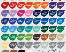 Available Vinyl Color chart